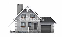200-009-R Three Story House Plans with mansard roof and garage, luxury Drawing House,