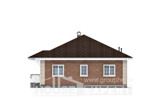 100-001-L One Story House Plans, economical Online Floor, House Expert