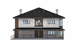 245-001-R Two Story House Plans, spacious Architectural Plans,
