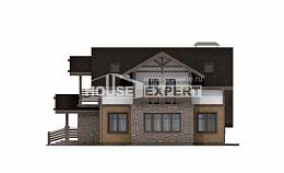 180-011-L Two Story House Plans and mansard and garage, average Custom Home Plans Online,