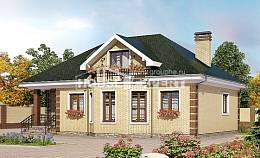 150-013-L Two Story House Plans and mansard, classic Home Plans,