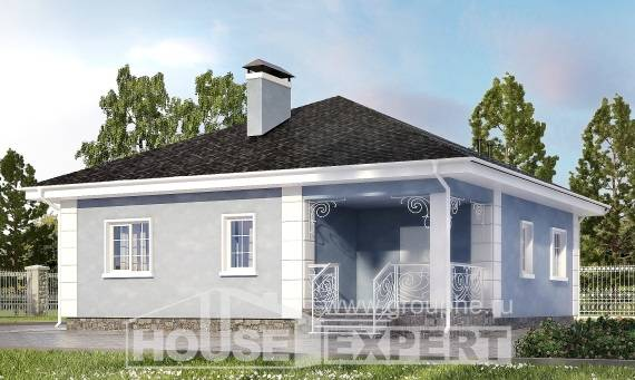 100-001-R One Story House Plans, beautiful House Plans,