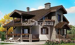 150-004-L Two Story House Plans with mansard, best house House Building,