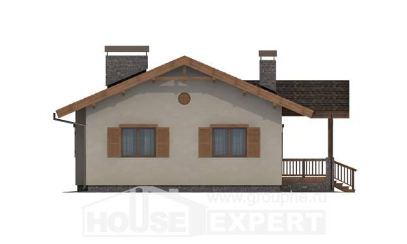 090-002-L One Story House Plans, inexpensive House Planes, House Expert