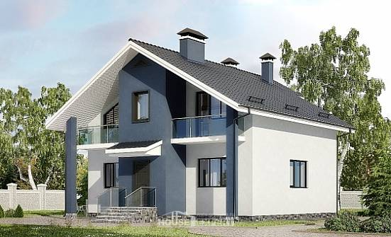 150-005-R Two Story House Plans and mansard, beautiful Custom Home, House Expert