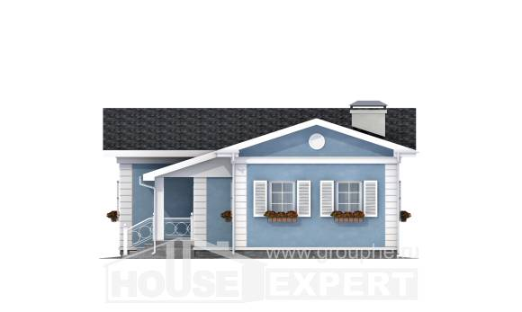 090-004-R One Story House Plans, the budget Building Plan,