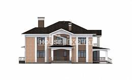 520-001-R Three Story House Plans, luxury Floor Plan,