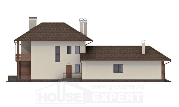 300-001-R Two Story House Plans, luxury Design Blueprints,