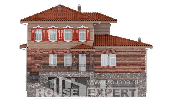 380-002-L Three Story House Plans with garage in back, best house Architects House, House Expert