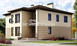 300-006-R Two Story House Plans and garage, beautiful Construction Plans,