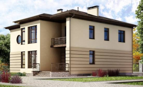 300-006-R Two Story House Plans with garage, beautiful Architect Plans,