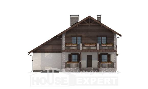 200-003-R Two Story House Plans with garage, best house Construction Plans,