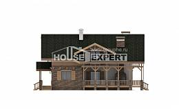 250-003-L Two Story House Plans and mansard, modern Dream Plan,