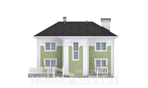 155-005-R Two Story House Plans, the budget House Planes,