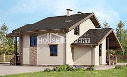 240-003-L Two Story House Plans with mansard, best house Drawing House,