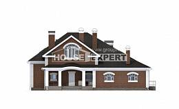400-003-R Two Story House Plans with mansard, spacious Blueprints,