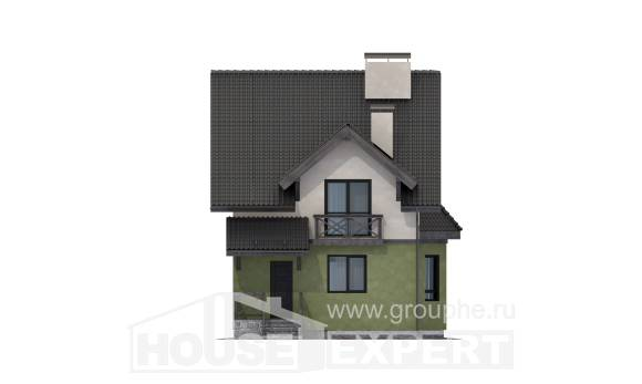 120-003-R Two Story House Plans, cozy Online Floor, House Expert