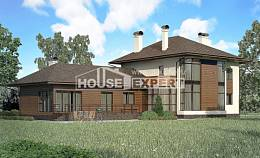 300-001-R Two Story House Plans, luxury Blueprints of House Plans,