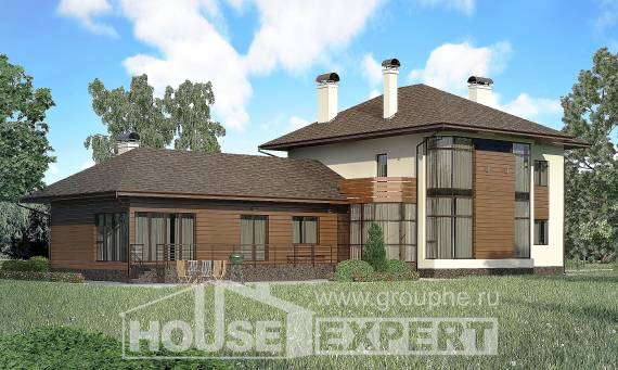 300-001-R Two Story House Plans, spacious Tiny House Plans,
