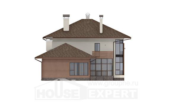 300-001-R Two Story House Plans, cozy Plan Online,