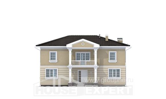 210-005-L Two Story House Plans, cozy Drawing House,