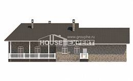 195-001-R One Story House Plans, luxury Home Plans,