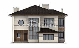 345-001-R Two Story House Plans, a huge Tiny House Plans