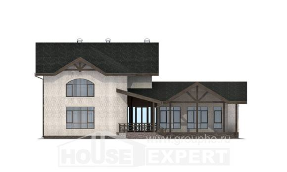 340-004-L Two Story House Plans, best house Architectural Plans,