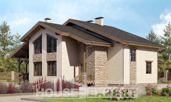 240-003-L Two Story House Plans and mansard, best house Blueprints of House Plans,