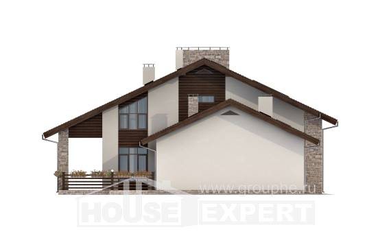 480-001-L Two Story House Plans and mansard, classic House Blueprints, House Expert