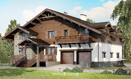 440-001-R Three Story House Plans with mansard roof and garage, best house Architectural Plans, House Expert