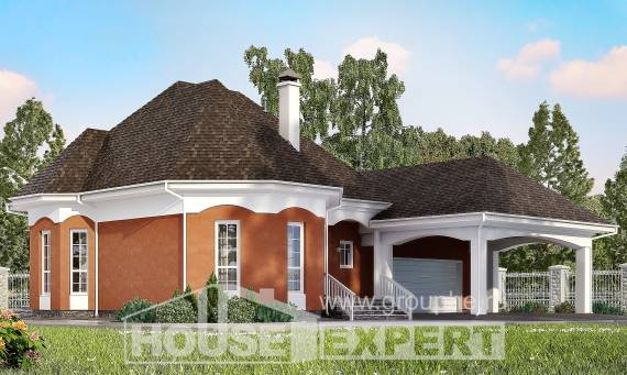 180-007-R Two Story House Plans and mansard with garage in front, classic Custom Home