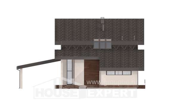 230-001-R Two Story House Plans with mansard roof, average Planning And Design, House Expert