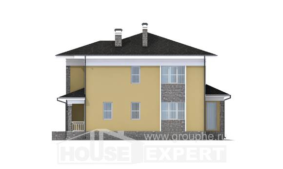 155-011-L Two Story House Plans, economical Architects House, House Expert
