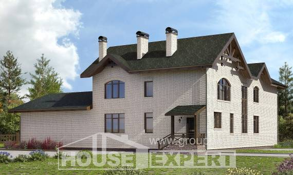 340-004-L Two Story House Plans, modern Planning And Design,