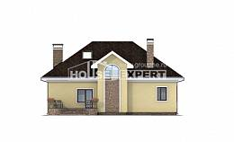 150-008-L Two Story House Plans and mansard, modest Tiny House Plans,