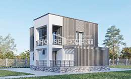 150-017-R Two Story House Plans, modest Design House, House Expert