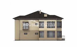 300-006-R Two Story House Plans and garage, modern Woodhouses Plans,