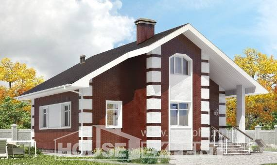 115-001-R Two Story House Plans with mansard, modern Timber Frame Houses Plans,