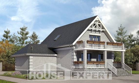 200-009-R Three Story House Plans with mansard with garage in back, average Architectural Plans,