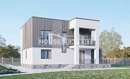 150-017-R Two Story House Plans, small Cottages Plans, House Expert