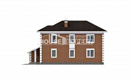 220-004-L Two Story House Plans with garage, classic Tiny House Plans, House Expert