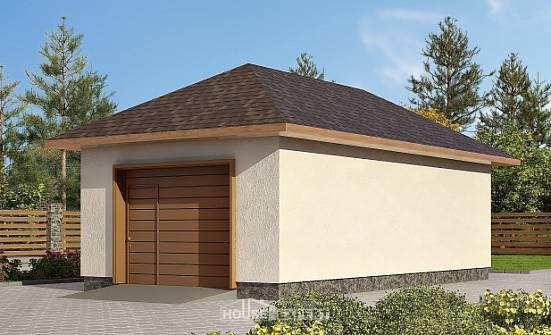 040-001-R Garage plan, House Expert