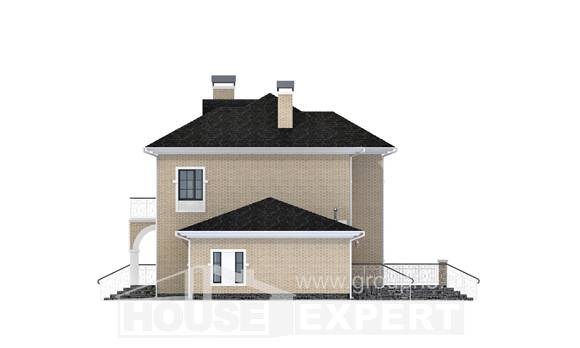 180-006-R Two Story House Plans and garage, modern Design House,