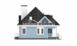 110-001-L Two Story House Plans and mansard, a simple Woodhouses Plans,