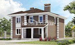 185-002-R Two Story House Plans, spacious Plan Online,