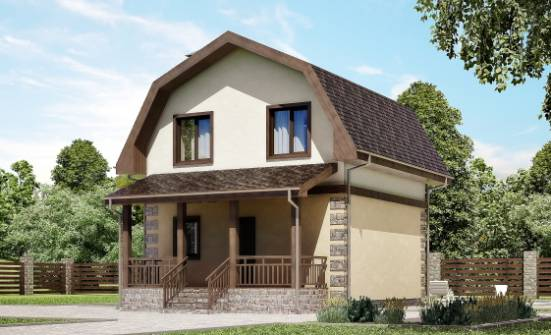 070-004-R Two Story House Plans with mansard roof, beautiful Drawing House, House Expert
