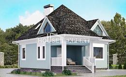 110-001-L Two Story House Plans with mansard, classic Planning And Design,