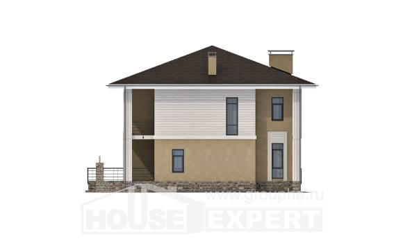 180-015-L Two Story House Plans, spacious Construction Plans,