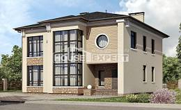 300-005-L Two Story House Plans, big House Building,